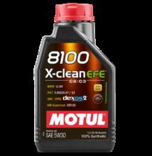 Motul 8100 X-Clean EFE 5w-30 1liter