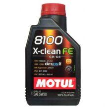 Motul 8100 X-Clean FE 5w-30 1liter