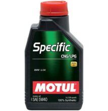 Motul Specific CNG/LPG 5w-40 1liter