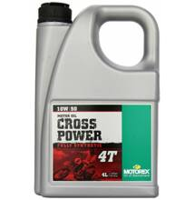 MOTOREX Cross Power 4T 10w-50 4liter