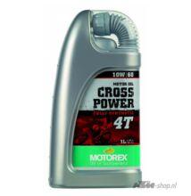 MOTOREX Cross Power 4T 10w-60 1liter