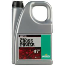MOTOREX Cross Power 4T 10w-60 4liter
