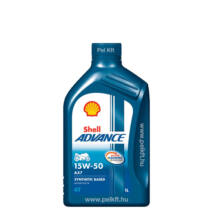 Shell Advance 4T AX7 15w-50 1liter