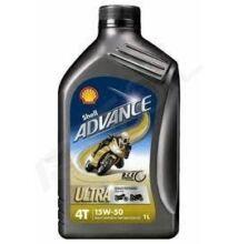 Shell Advance Ultra 4T 15w-50 1liter
