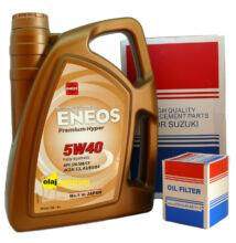 Eneos Premium Hyper 5W-40 4liter + suzuki szűrő szett