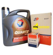 Total Quartz 9000 5W-40 4liter + suzuki szűrő szett