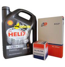 Shell Helix Ultra 5W-40  4liter + suzuki szűrő szett