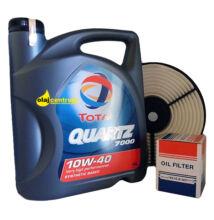 Total Quartz 7000 10W-40 4liter + suzuki szűrő szett