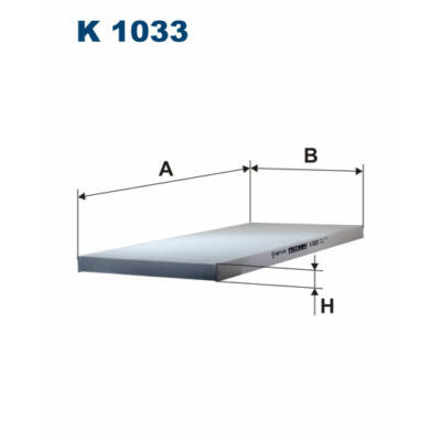 K1033 FILTRON POLLENSZŰRŐ