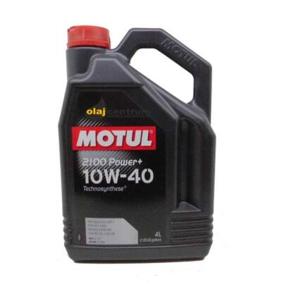 Motul 2100 POWER+ 10W-40 4liter