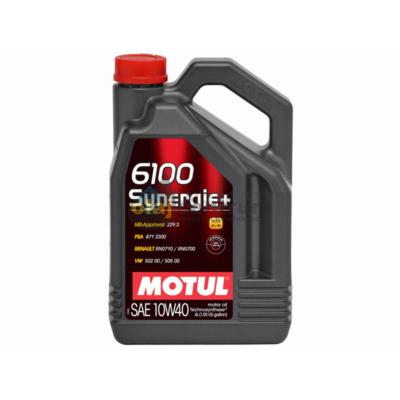 Motul 6100 Synergie+ 10W-40 4Liter
