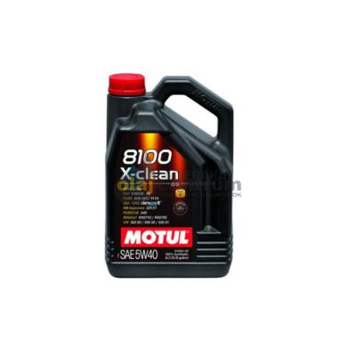 Motul 8100 X-Clean 5w-40 4liter