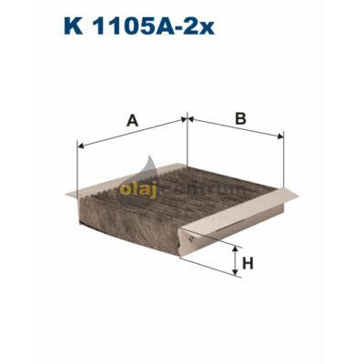 K1105A-2X FILTRON POLLENSZŰRŐ